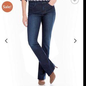 NYDJ Lift & Tuck Jeans sz 8 Bootcut # M36